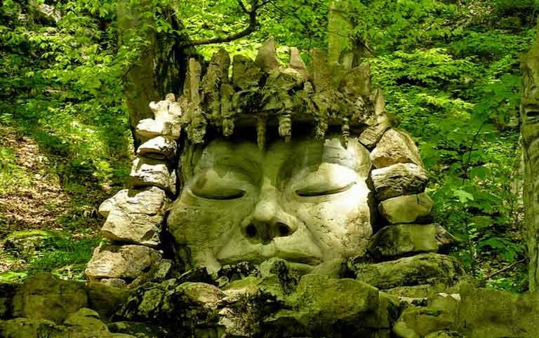 экскурсия Воронцовские пещеры древняя статуя