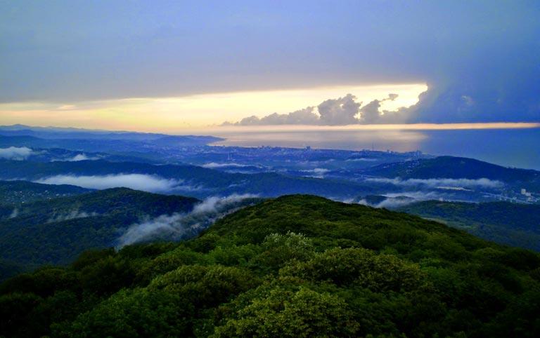 Экскурсия гора Ахун Сочи
